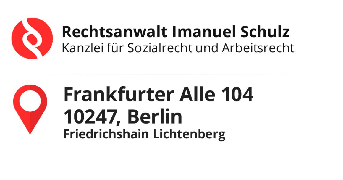 Facebook Anwalt Sozialrecht Standort Frankfurterallee Anwalt